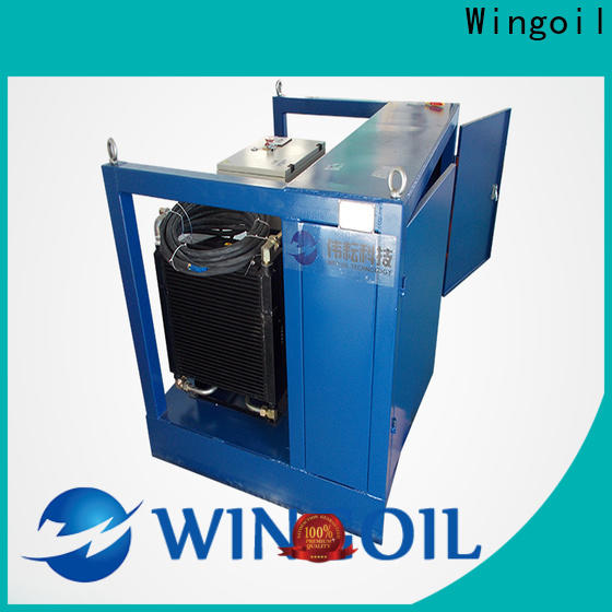Wingoil chemical injection unit in high-pressure For Gas Industry