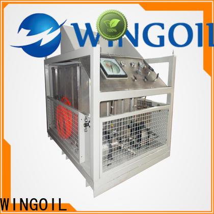 Wingoil Best valve pressure test company for onshore