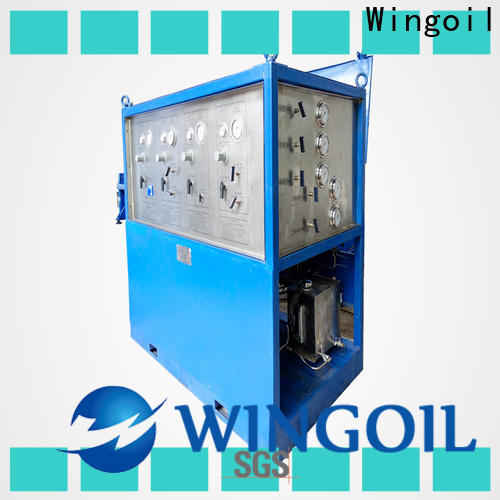 Wingoil pressure testing pipework Supply For Oil Industry