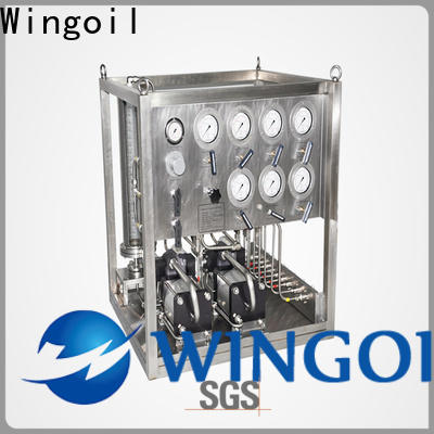 Wingoil corrosion inhibitor pump company For Gas Industry