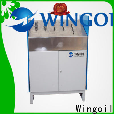 Wingoil water pressure test pump company for onshore