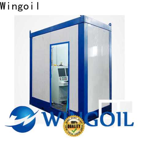 Wingoil Flow Control hydrostatic pressure test report infinitely for onshore