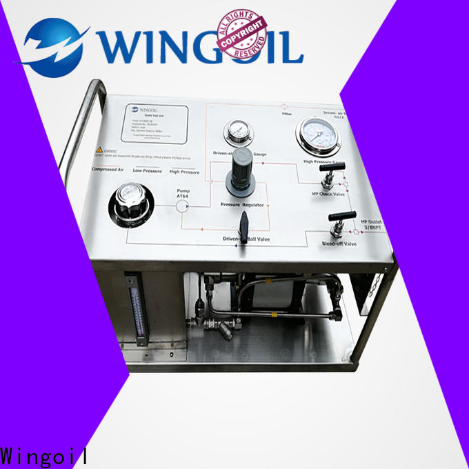 Wingoil Latest water pump test factory For Oil Industry