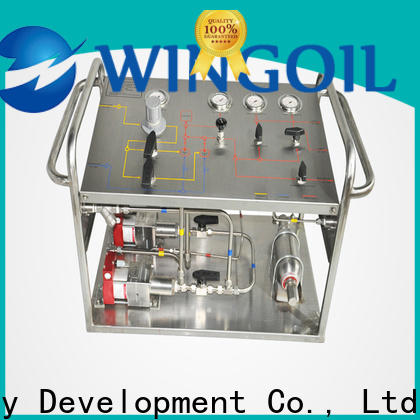Wingoil hydrostatic testing Suppliers For Oil Industry