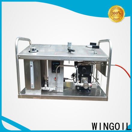 Wingoil test pump elektrik manufacturers for offshore