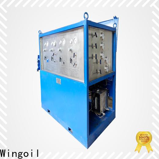 Wingoil Latest pipeline pressure testing equipment Supply for offshore