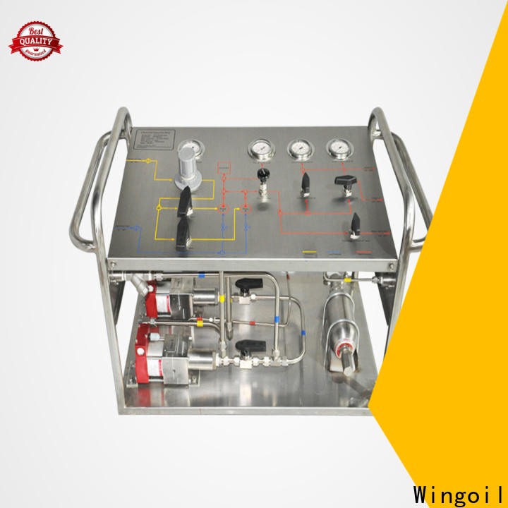 Wingoil high pressure chemical injection pump manufacturers for offshore