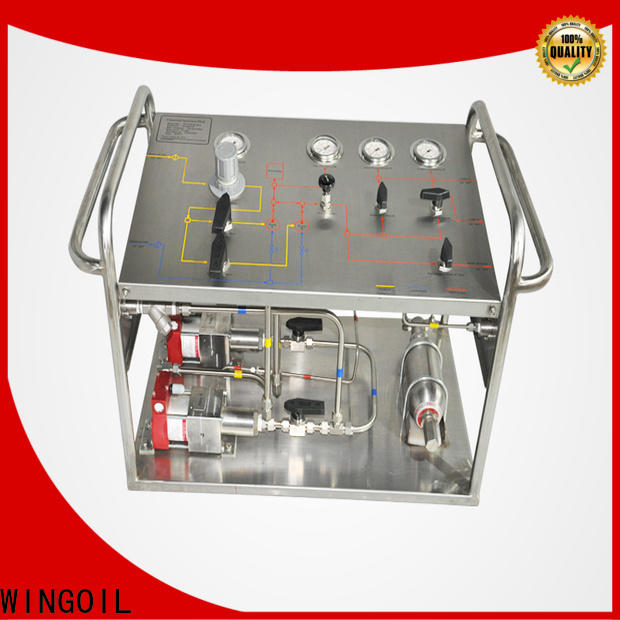 high pressure hydrostatic testing equipment sales factory For Gas Industry