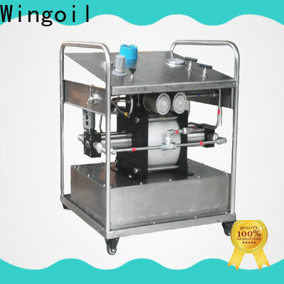 Wingoil driven by hydrostatic pressure widely used for onshore