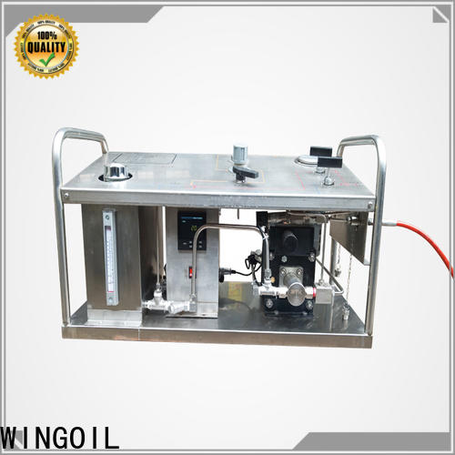 Wingoil Custom hydraulic pump pressure test manufacturers for offshore