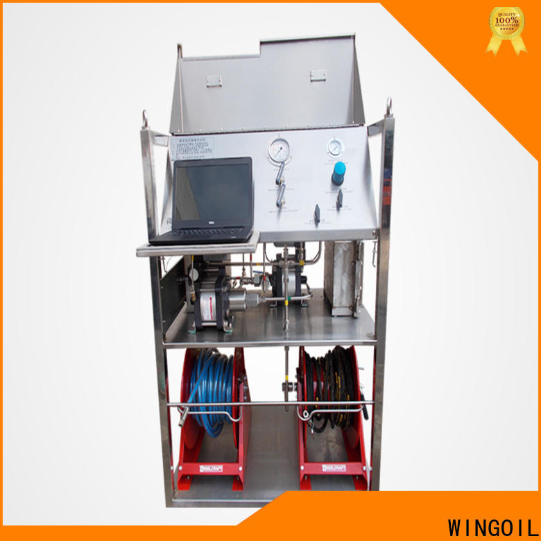 Wingoil electronic test equipment for business for onshore