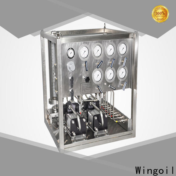 Wingoil injection package for business for onshore