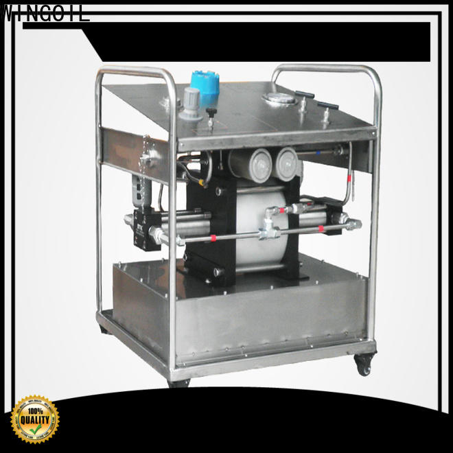 Wingoil New hydro pressure test pump widely used For Oil Industry