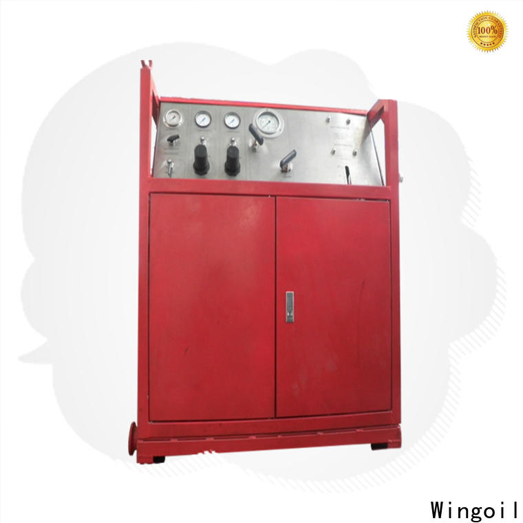 Wingoil Safety hydrostatic testing equipment for sale for business For Oil Industry