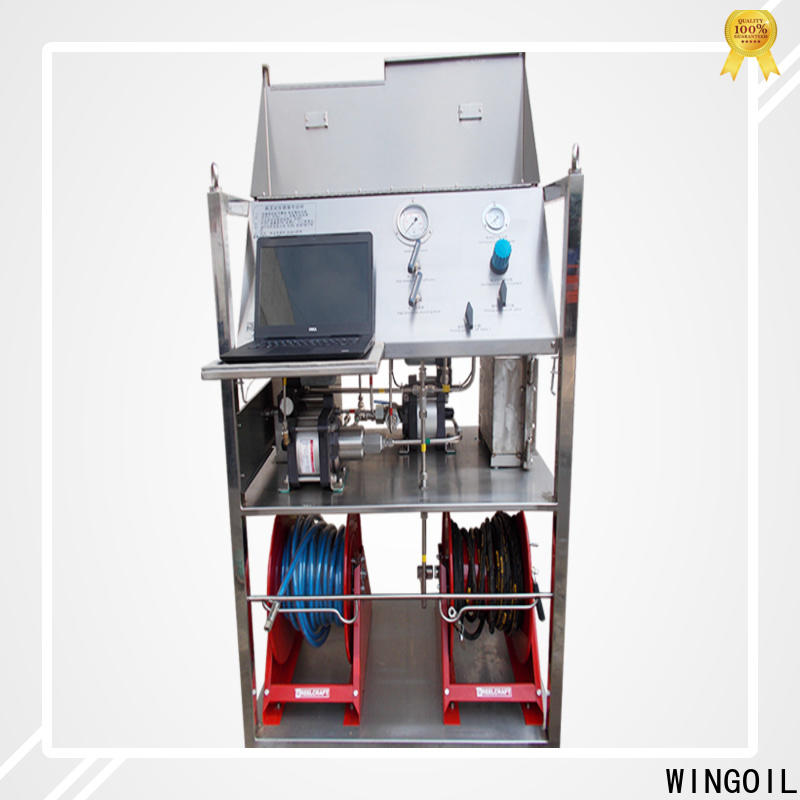 Custom textile testing equipment widely used for offshore