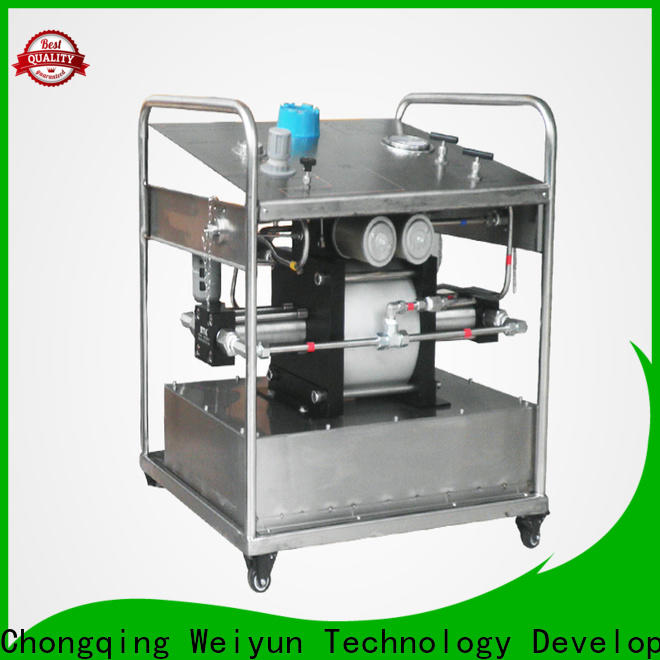 Top manual pressure test pump factory For Oil Industry