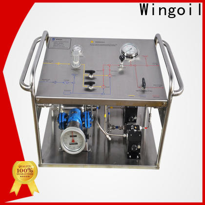 Wingoil hydrostatic test equipment suppliers company For Gas Industry