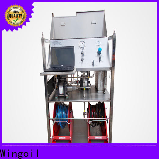 Wingoil pressure test equipment suppliers company For Oil Industry