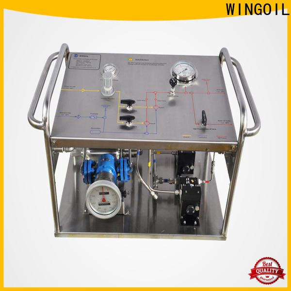 Wingoil High-quality air pressure test pump Suppliers For Gas Industry