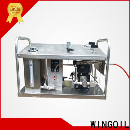 Wingoil rice test company For Oil Industry