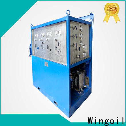 Wingoil Custom hydrostatic pressure test manifold With unrivaled expertise for offshore