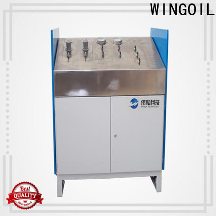 Wingoil High-quality valve testing equipment in high-pressure For Oil Industry