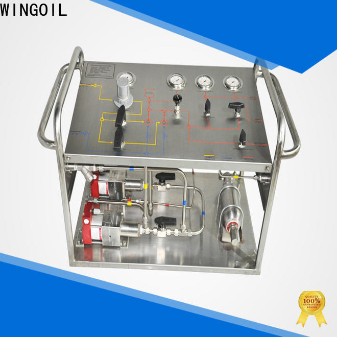 Wingoil popular rice test pump Supply For Gas Industry