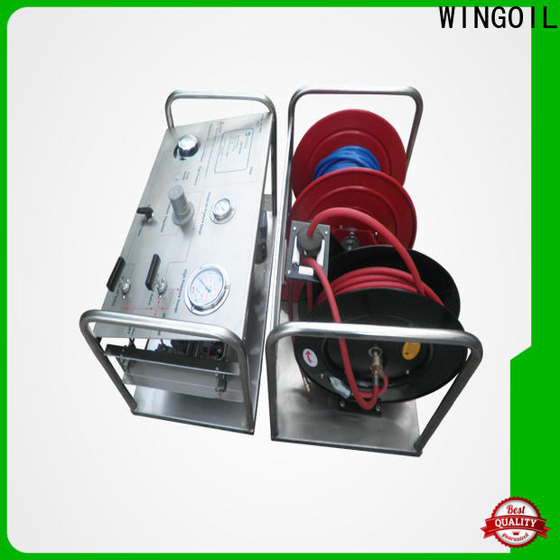 Wingoil hydrostatic pressure test pump for sale Suppliers for offshore