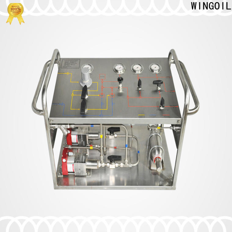 Wingoil Top biocide injection skid Supply for offshore