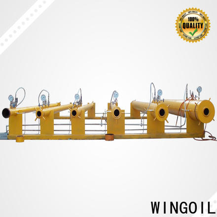 Wingoil fire extinguisher hydro testing equipment factory for onshore