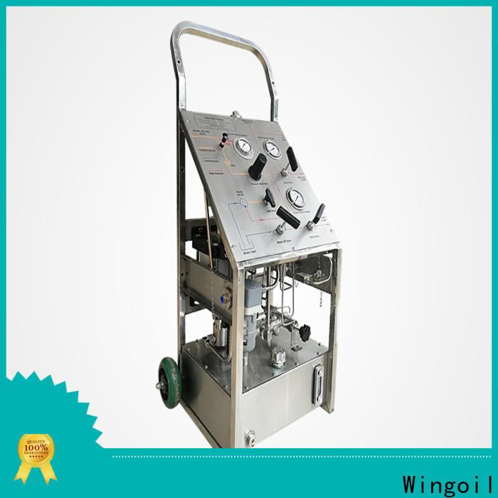 Wingoil high pressure high pressure pneumatic pump company For Oil Industry