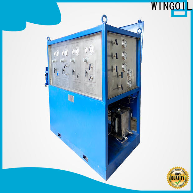 Wingoil phone testing equipment widely used for offshore