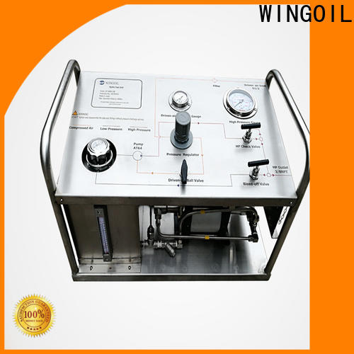 Wingoil Best hydrostatic test machine factory for offshore