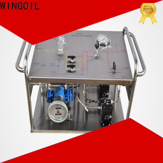 Wholesale pressure testing infinitely For Gas Industry