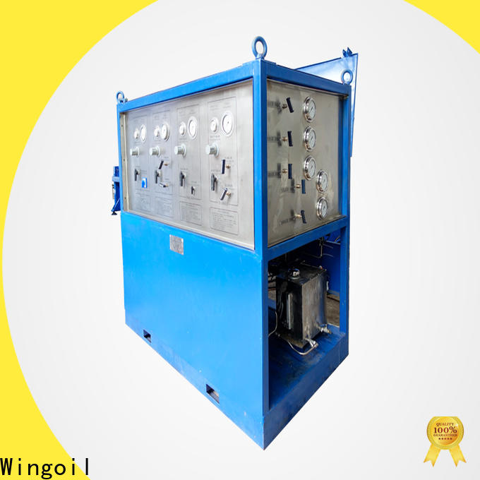 Wingoil pipeline hydrostatic testing manufacturers for offshore