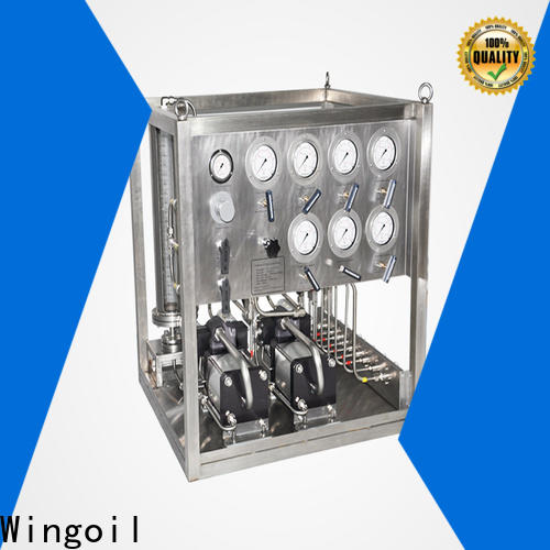 Wingoil Best chemical metering pump infinitely For Oil Industry