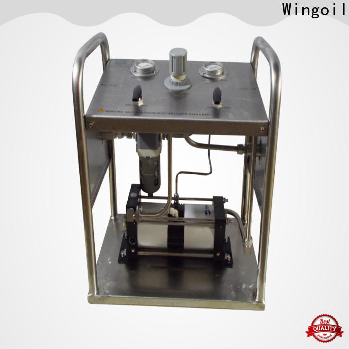 Wingoil hydrostatic pressure test procedure company For Gas Industry