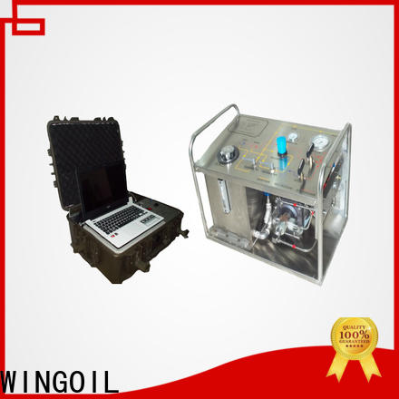 Wholesale hydrostatic test pump prices manufacturers for onshore