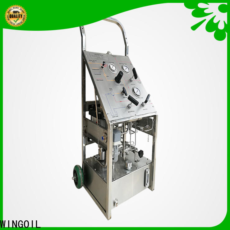 Latest hydro hand pump company For Oil Industry