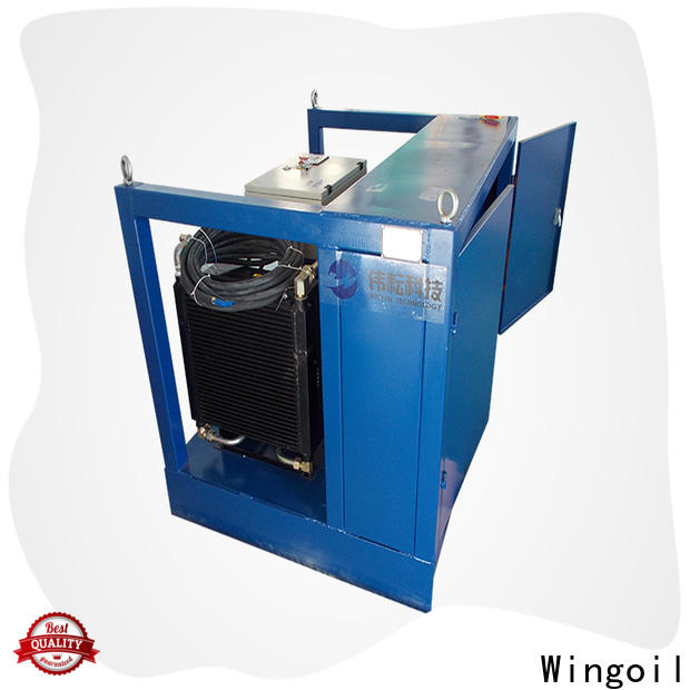 Wingoil Latest pipe air testing procedure in high-pressure For Oil Industry