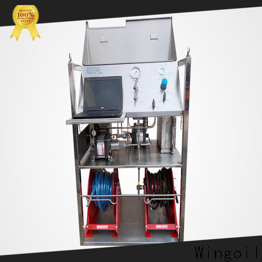 Wingoil hydrostatic pressure test for business For Oil Industry