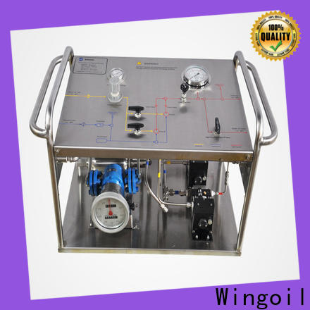 Wingoil Best pressure test bucket pump Suppliers for onshore