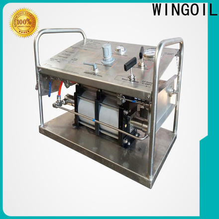 Wingoil wheeler hydrostatic test pump widely used for onshore