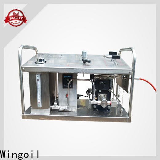 Wingoil pressure pump for hydrotest Supply For Oil Industry