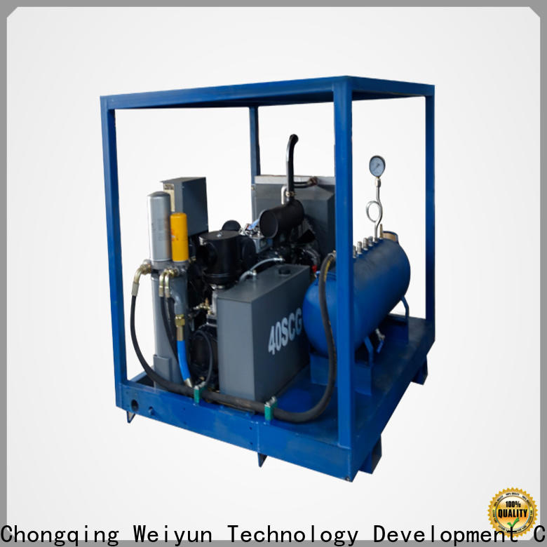 Wingoil pipe pressure testing machine for onshore