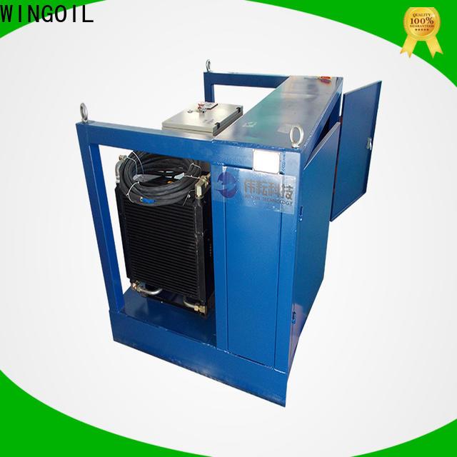 Wingoil pneumatic leak test tank manufacturers for onshore