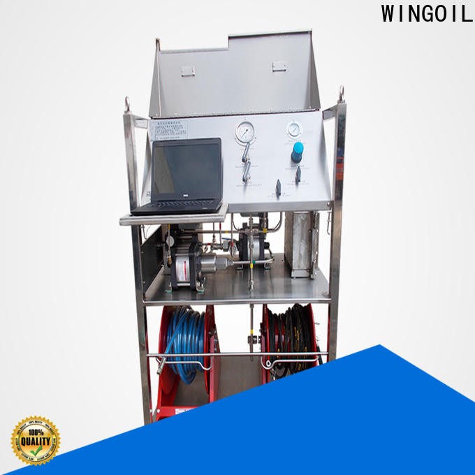 Wingoil design pressure and test pressure for business For Oil Industry