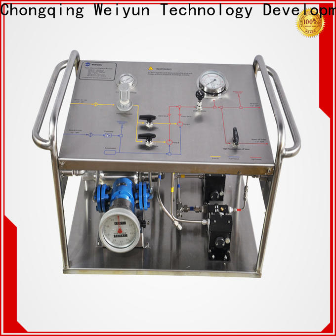 Wingoil electric hydro test pump Suppliers for offshore
