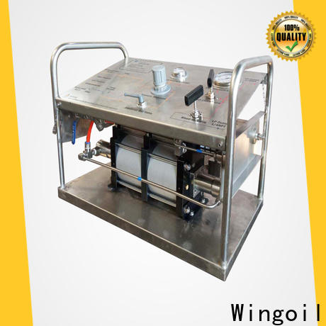 Wingoil hand operated hydrotest pump Supply for offshore
