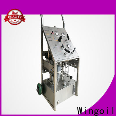 Wingoil High-quality hydro testing machine company for onshore